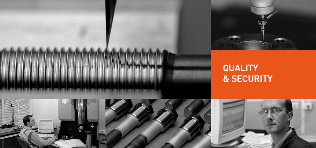 Qualité et sécurité pour nos clients du nucléaire, de l'aéronautique, de l'hydro-électrique...