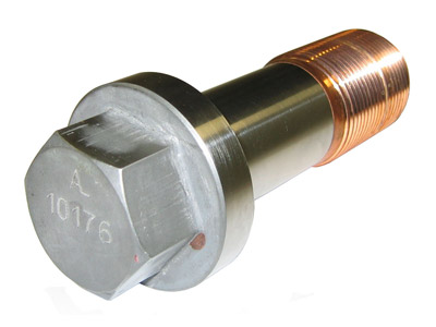 MECHANICAL-PART-Hex-screw-Coppered-threads-STAINLESS-STEEL-AUSTENITIC-56X152