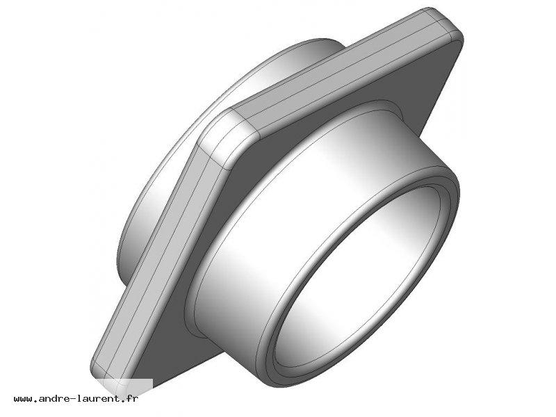 CAD flange