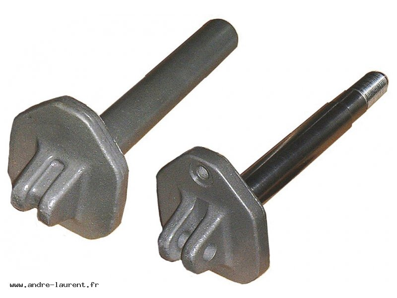 Motion axle or drive shaft, blank and finished part