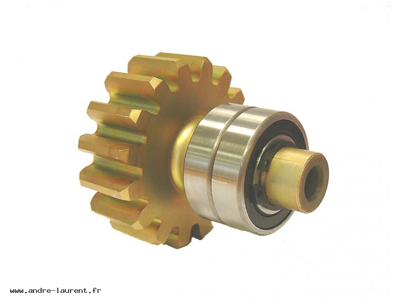 Output-shaft-assembled