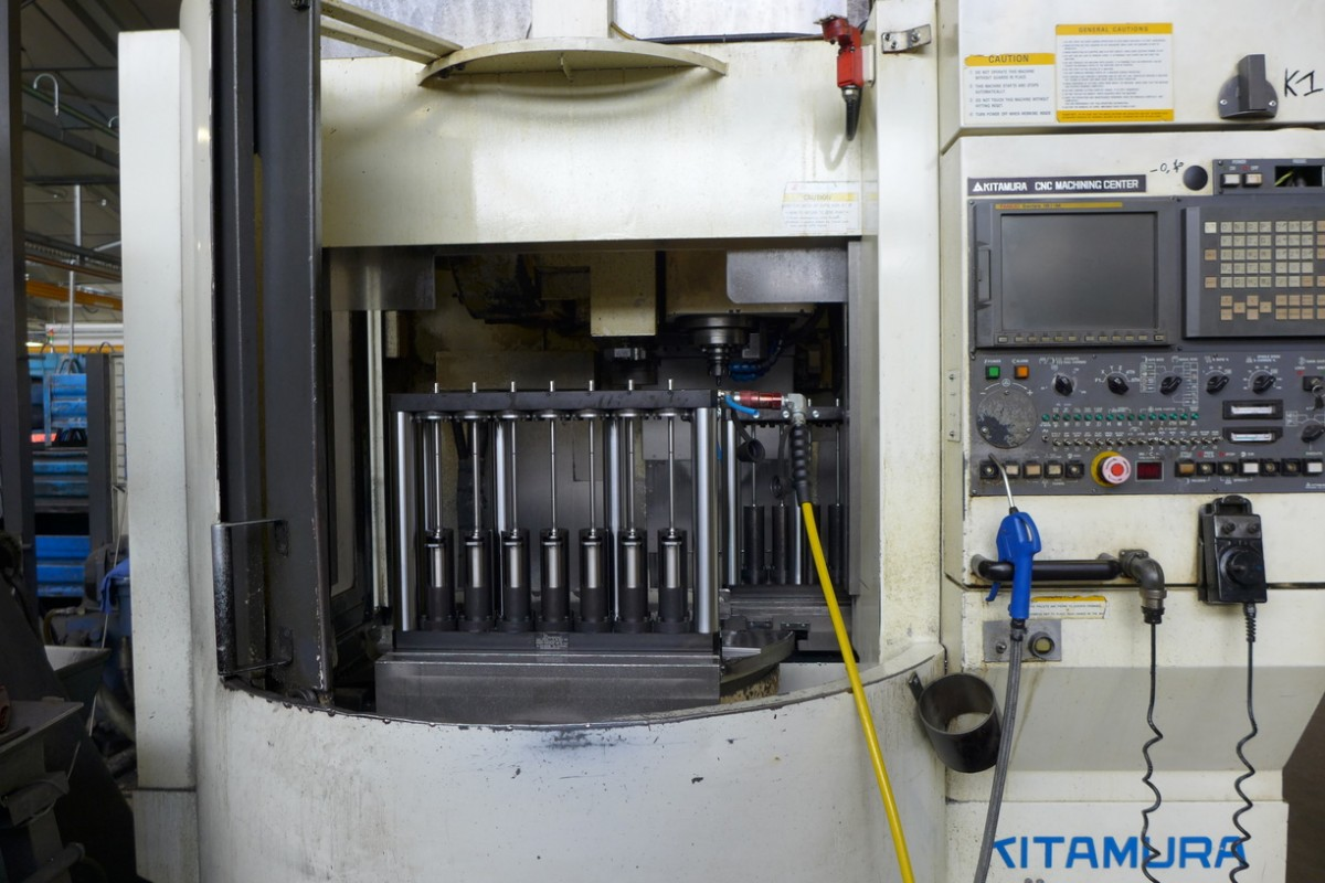 3 axis palletised vertical machining centers