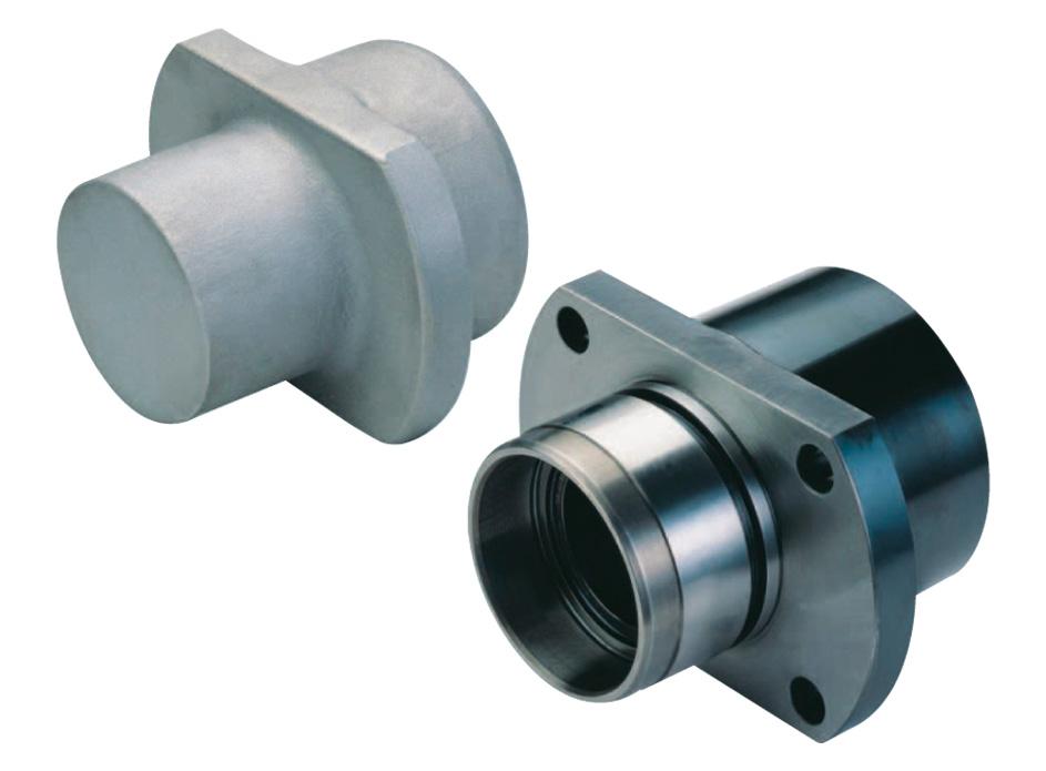 Bearing spindle Ø 120 x 60 14 NiCr11